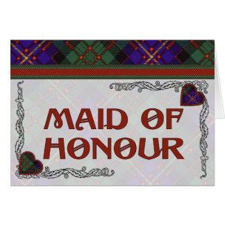 Cameron of Erracht Scottish tartan Greeting Card