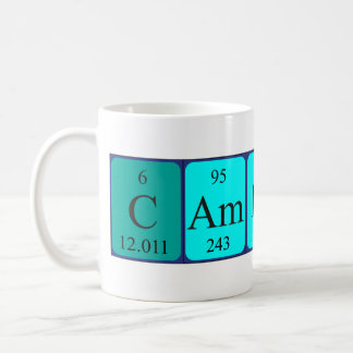 Cameron periodic table name mug