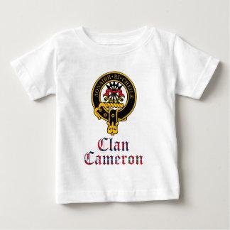 Cameron Scottish Crest Tartan Clan Name Clothes Baby T-Shirt