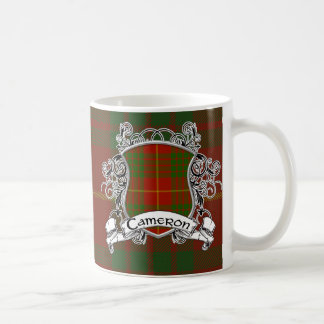Cameron Tartan Shield Coffee Mug