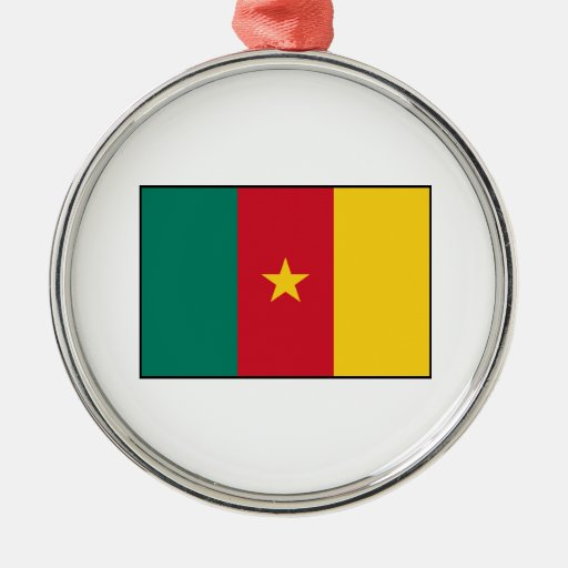 Cameroon – Cameroonian Flag Christmas Tree Ornament