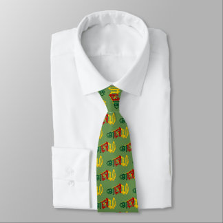 Cameroon Cameroun Football Soccer Cleat Neck Tie