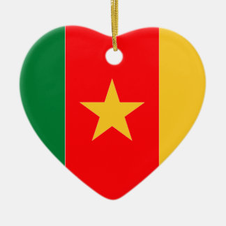 Cameroon Christmas Ornament