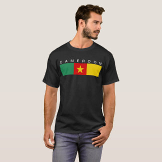 Cameroon country flag symbol long T-Shirt