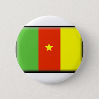 Cameroon Flag 6 Cm Round Badge