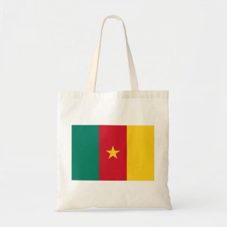 Cameroon Flag Tote Bags