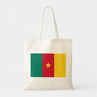 Cameroon Flag Budget Tote Bag
