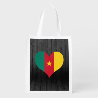 Cameroon flag colored