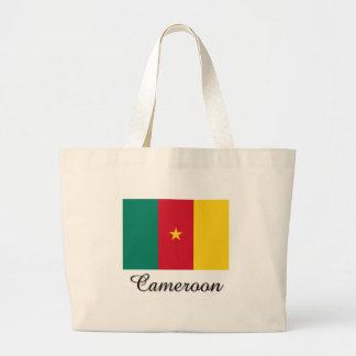 Cameroon Flag Design Tote Bag