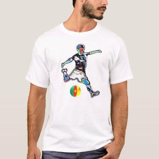 Cameroon flag football soccer jersey t-shirt