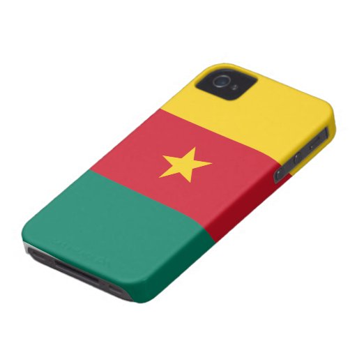Cameroon Flag iPhone 4 Cover
