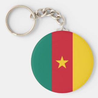 Cameroon Flag Key Ring
