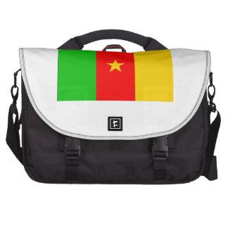 Cameroon Flag Laptop Computer Bag