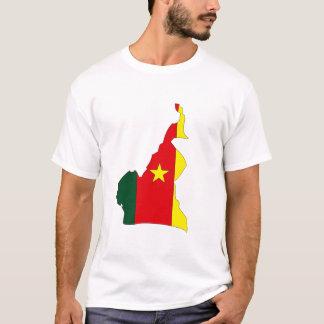 Cameroon flag map T-Shirt