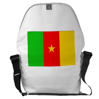 Cameroon Flag Courier Bags
