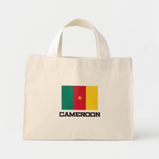 Cameroon Flag Mini Tote Bag