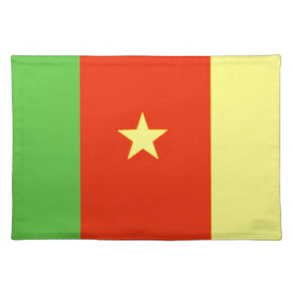 Cameroon Flag Placemat