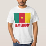 Cameroon Flag Red Text T-Shirt