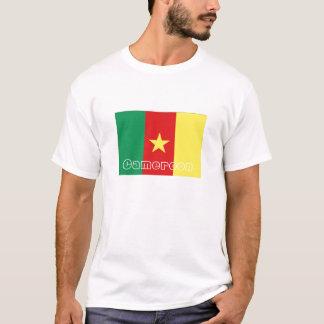 Cameroon flag souvenir tshirt