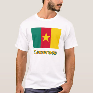 Cameroon Flag with Name T-Shirt