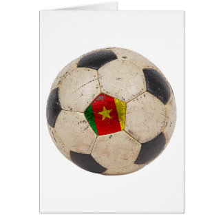 Cameroon Football Card