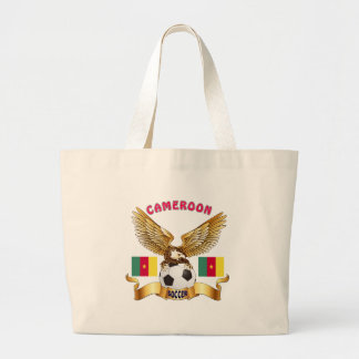 Cameroon Football Designs Tote Bag