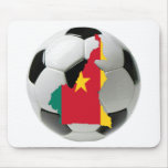 Cameroon football soccer mouse pads