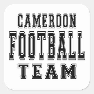 Cameroon Football Team Square Sticker