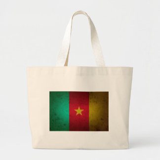 Cameroon Grunge Flag Cameroonian Texture Bag