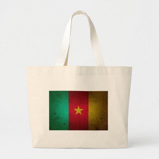 Cameroon Grunge Flag Cameroonian Texture Bag