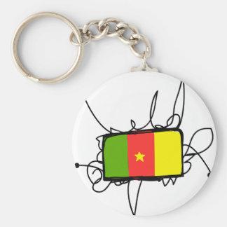 Cameroon Key Chain