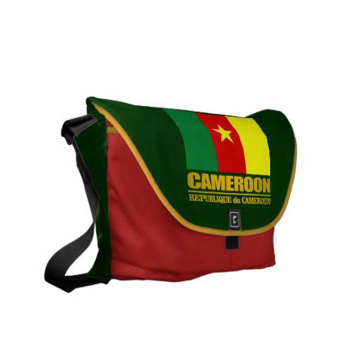 Cameroon Pride Courier Bag