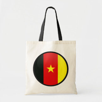 Cameroon quality Flag Circle Canvas Bags