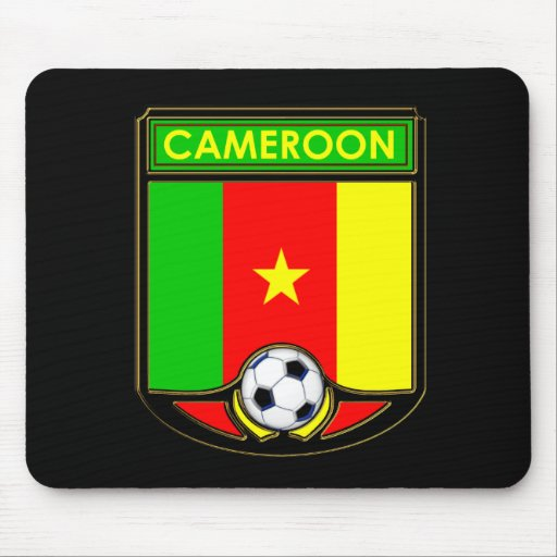 Cameroon Soccer Mouse Pads