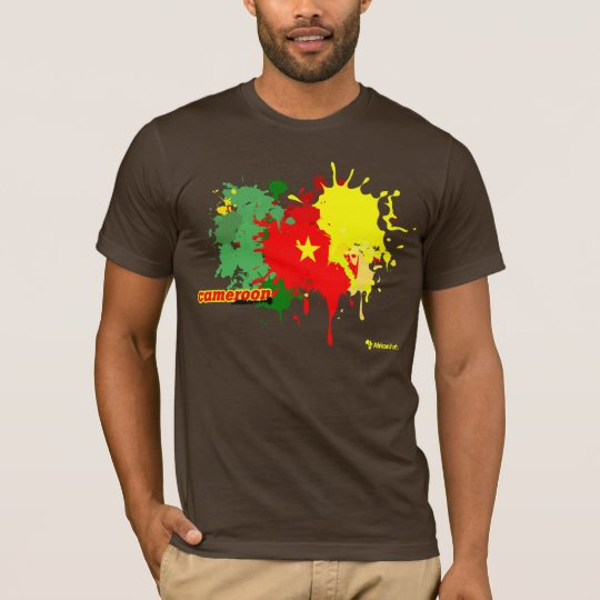 Cameroon Splash Dark T-Shirt