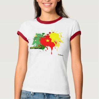Cameroon Splash White T-Shirt