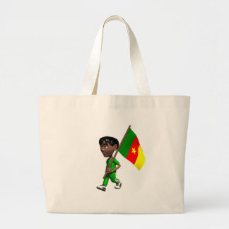 Cameroonian Boy Jumbo Tote Bag