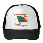 cameroonian by birth saved by the grace of God Trucker Hats