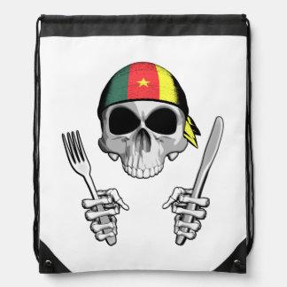 Cameroonian Chef 4 Drawstring Bags