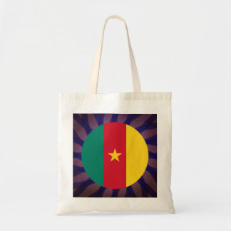 Cameroonian Flag Souvenir Budget Tote Bag