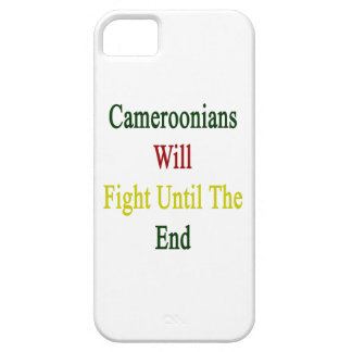 Cameroonians Will Fight Until The End Cover For iPhone 5/5S