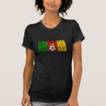 Cameroun flag logo gifts t-shirt