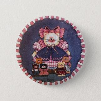 Camilla Kitty Button Pin