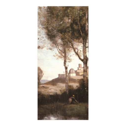 Camille Corot- Nest Harriers in Tuscan Full Color Rack Card