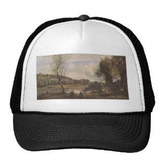 Camille Corot- Pond of Ville d'Avray Trucker Hat