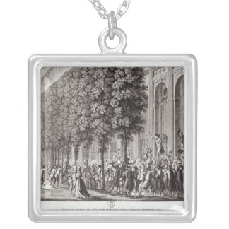 Camille Desmoulins  Speaking at the Palais Silver Plated Necklace