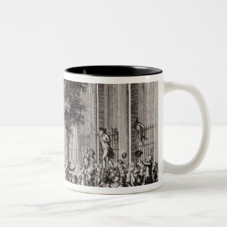 Camille Desmoulins  Speaking at the Palais Two-Tone Coffee Mug