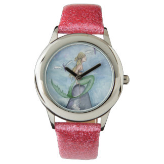 Camille Grimshaw Dragonfly Mermaid Watch