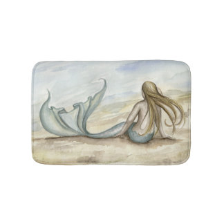 Camille Grimshaw Seaside Mermaid Bath Mat