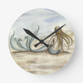Camille Grimshaw Seaside Mermaid Clock